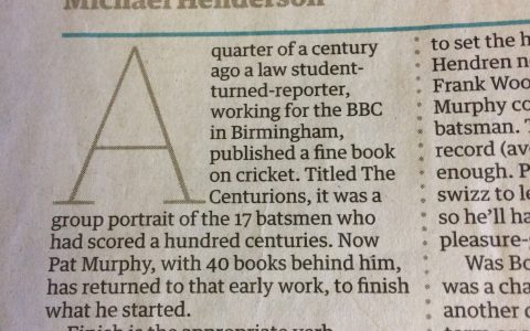 Book review Guardian 2009