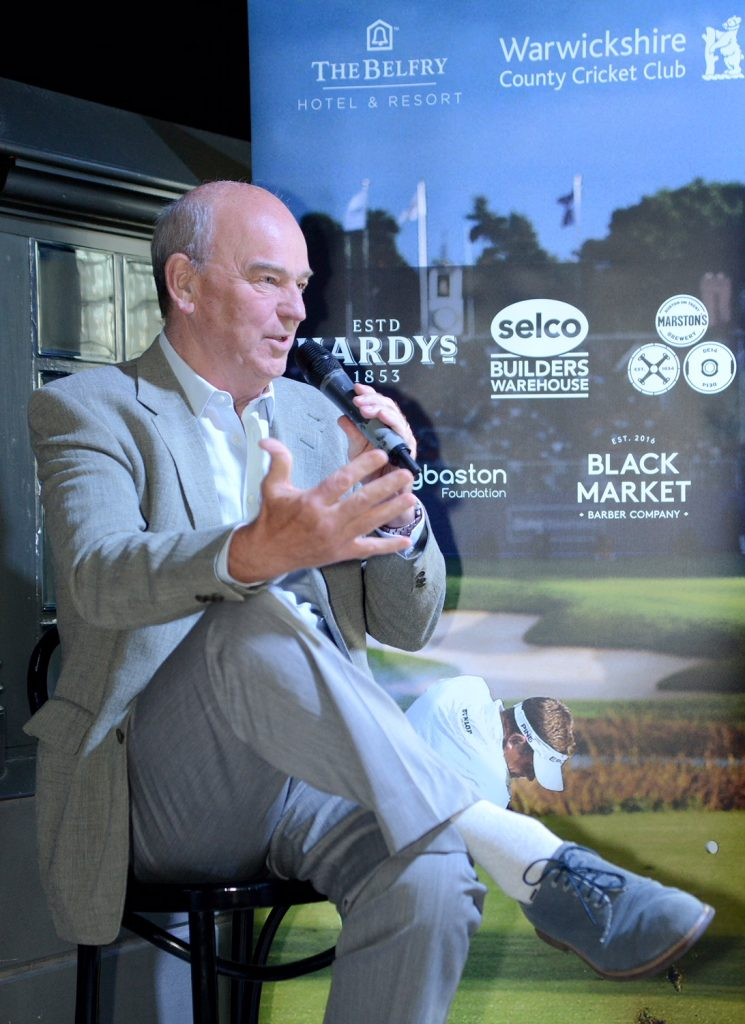 Warwickshire cricketers' golf day at the Belfry