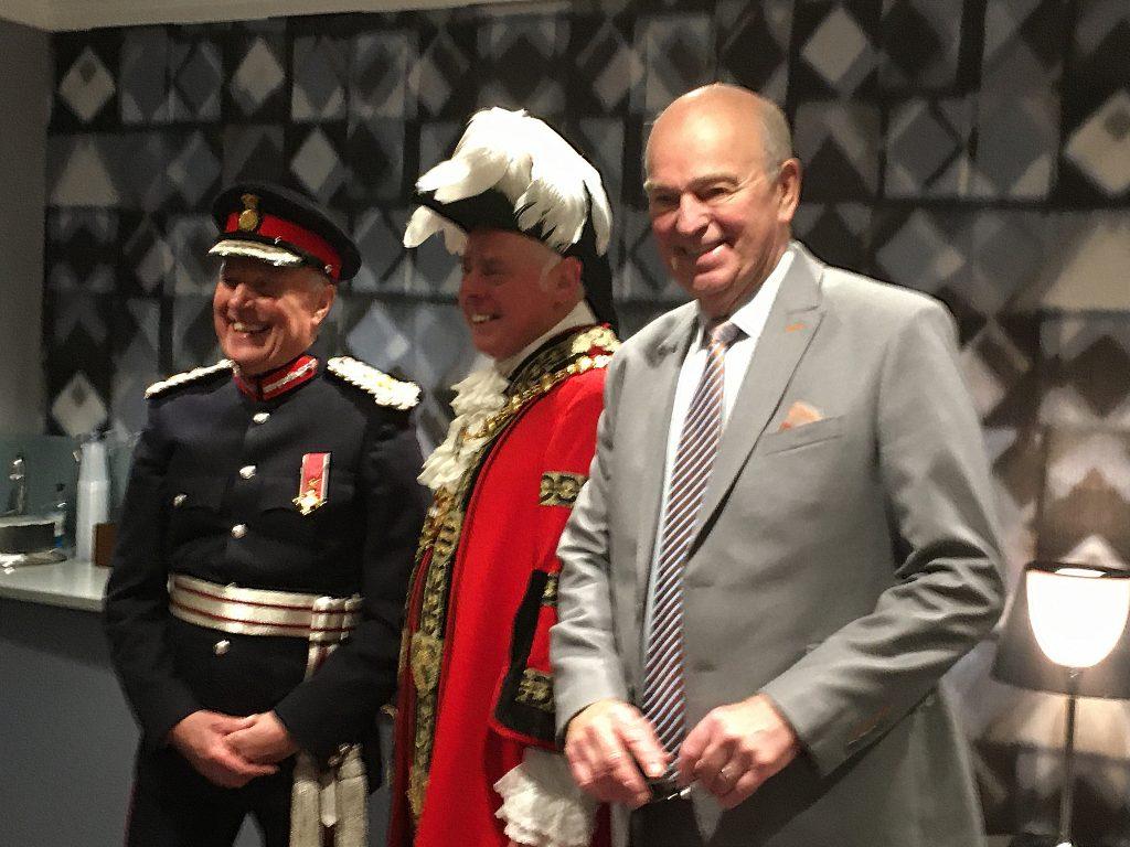 Hosting the Queen's Award for Voluntary Organisations at Birmingham's Hippodrome