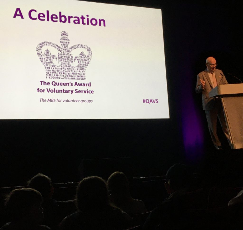 Hosting the Queen's Award for Voluntary Organisations at Birmingham's Hippodrome